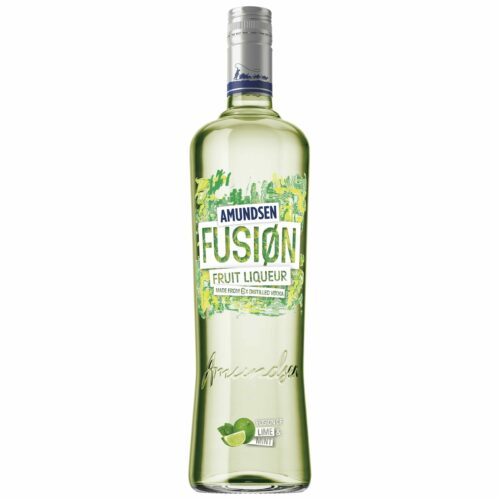 Amundsen Fusion Lime & Mint Vodka 15% 1l
