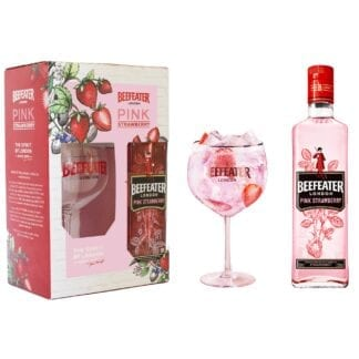 Beefeater Pink + sklenice 37