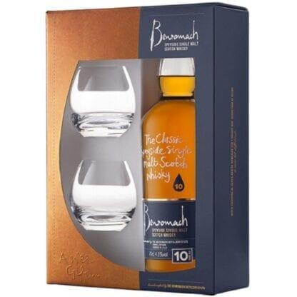 Benromach 10yo + 2 skla 43% 0