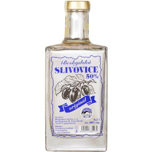 Beskydská Slivovice Premium 50% 0