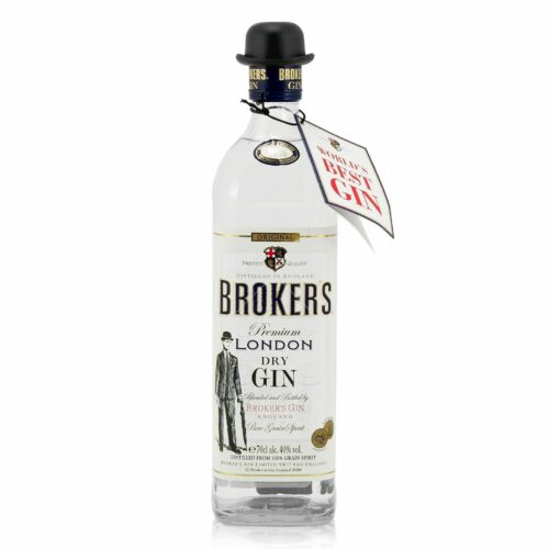Brokers London Dry Gin 40% 0