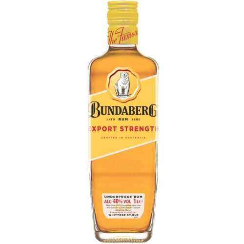 Bundaberg Export Strenght 40% 1l