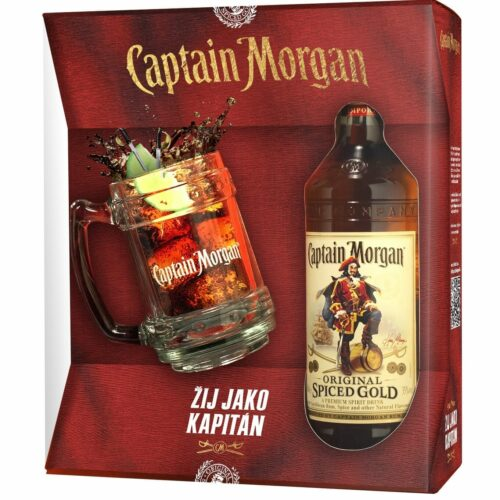 Captain Morgan Spiced Gold + korbel 35% 0