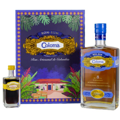 Coloma 8yo + Mini Coffee Liqueur 40% 0