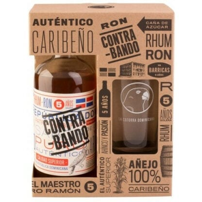 Contrabando + sklenice 38% 0