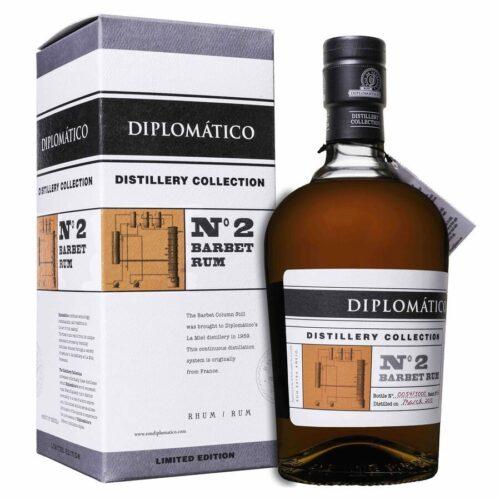 Diplomatico Distillery Collection No.2 Barbet Column Rum + Podpis 47% 0