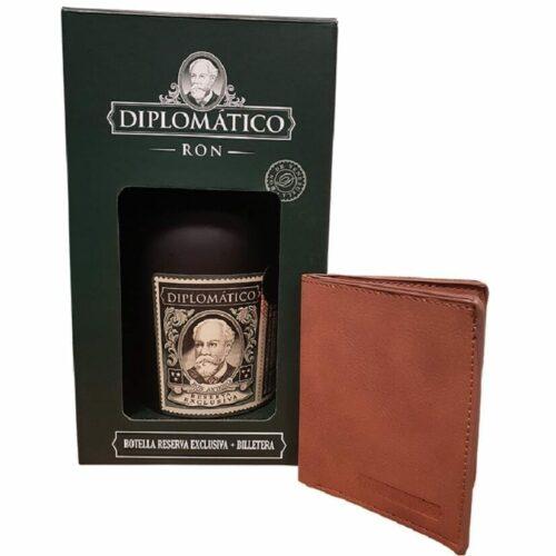 Diplomatico Reserva Exclusiva + Peněženka 40% 0
