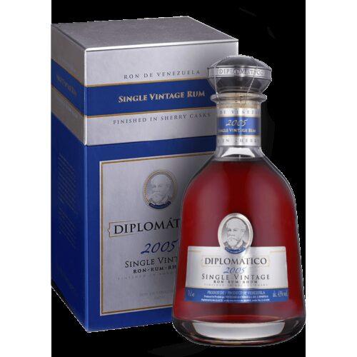 Diplomatico Single Vintage 2005 43% 0