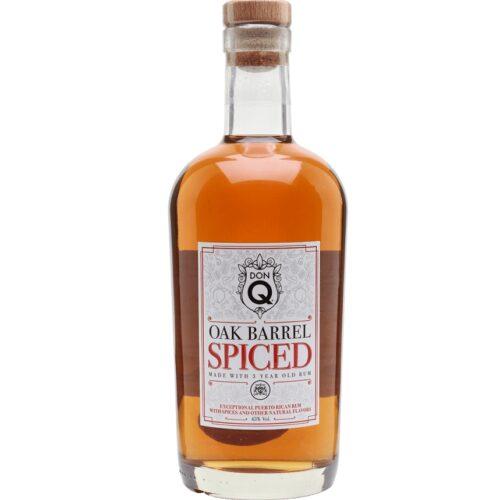 Don Q Oak Barrel Spiced 45% 0