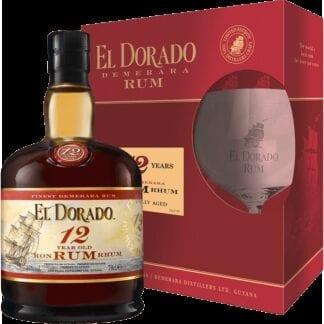 El Dorado 12yo + 1x sklo 40% 0