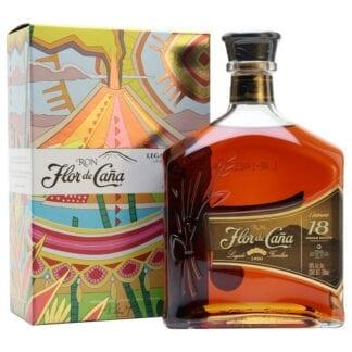 Flor de Caña Centenario Gold 18yo box 40% 1