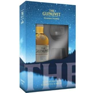 Glenlivet Founders Reserve + 2 skla 40% 0