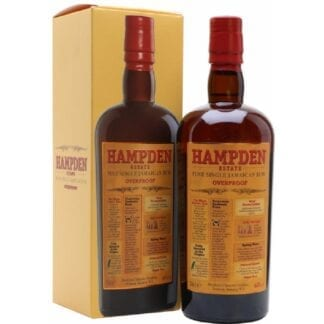 Hampden Estate Overproof 60% 0