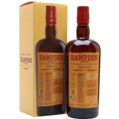 Hampden Estate Overproof 60% 0