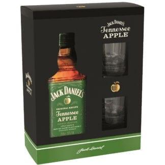 Jack Daniel's Apple + 2 skla 35% 0