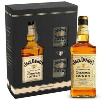 Jack Daniel's Honey + 2 skla 35% 0