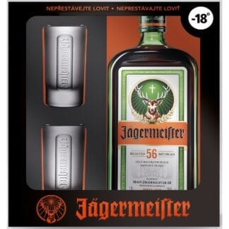 Jägermeister + 2 skla 35% 0