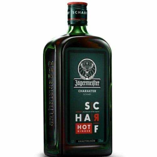 Jägermeister SCHARF Hot Ginger 33% 0