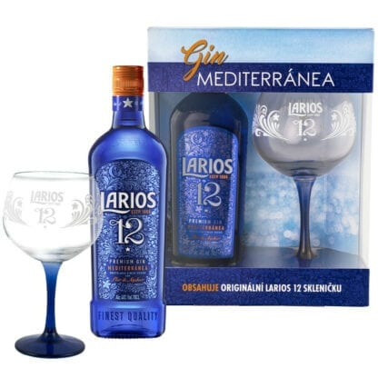Larios 12 Premium Gin + sklenice 40% 0