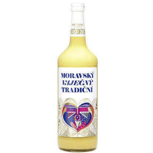 Moravský Vaječný likér Metelka 14% 1l