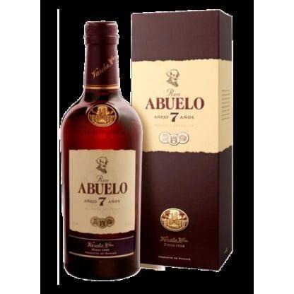 Ron Abuelo Anejo 7 Anos box 40% 0