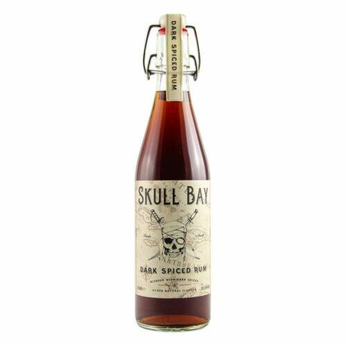 Skull Bay Dark Spiced Rum 37