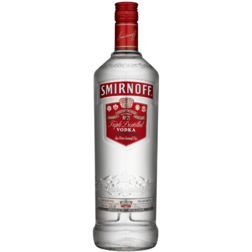 Smirnoff Red Vodka 37