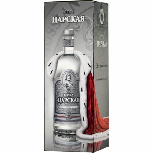 Vodka Carskaja Original kartonek 40% 1l