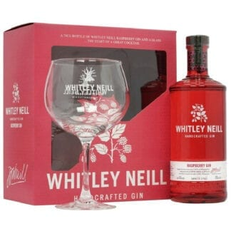 Whitley Neill Raspberry Gin + Sklenice 43% 0