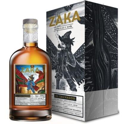 Zaka El Salvador Single Cask Rum 42% 0